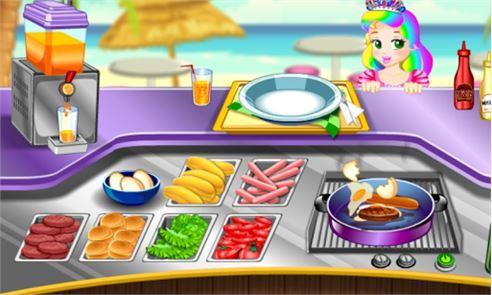 Princess Food Cooking 5