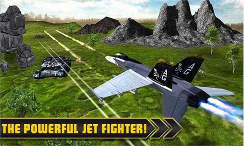 Fighter Jet Tanks Strike War 2