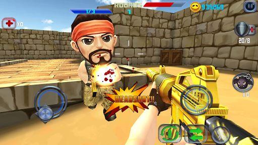 Gun Shoot War Q 6