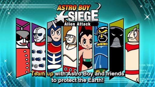 Astro Boy Siege: Alien Attack 6