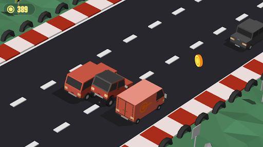 Blocky Cars: Traffic Rush 5