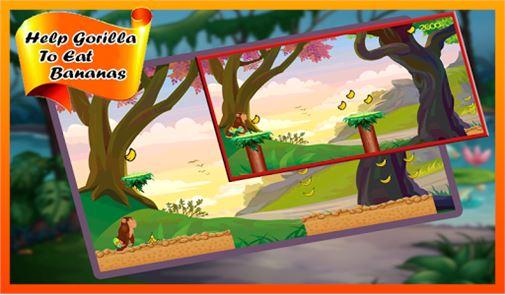 Gorilla Run – Jungle Game 2