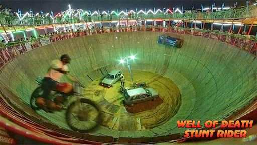 Well Of Death Car Stunt Rider 3