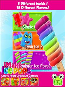 iMake Ice Pops-Ice Pop Maker 2