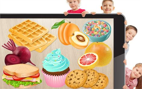 Food puzzle for kids 4