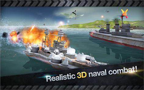 WARSHIP BATTLE:3D World War II 4