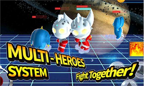 Ultraman Rumble2:Heroes Arena 4