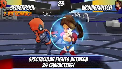 Superheros Free Fighting Games 1