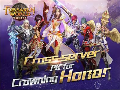 Forsaken World Mobile MMORPG 1
