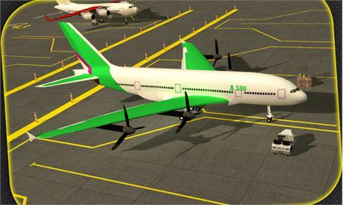 Transporter Plane 3D 3