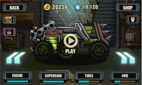 Zombie Road Racing 3