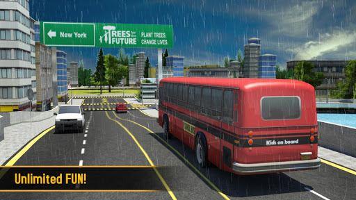 School Bus 3D 5