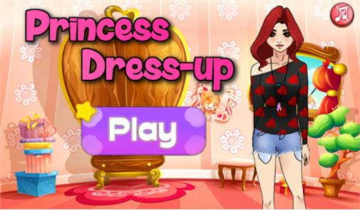 Dress Up Princess Girl Fashion 1