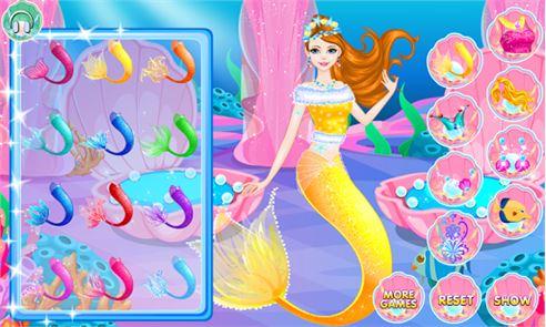 Mermaids Makeover Salon 3