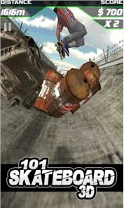 101 Skateboard Racing 3D 4
