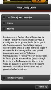 Trucos Candy Crush 2