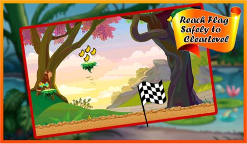 Gorilla Run – Jungle Game 6