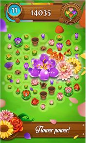 Blossom Blast Saga Flower Link 3