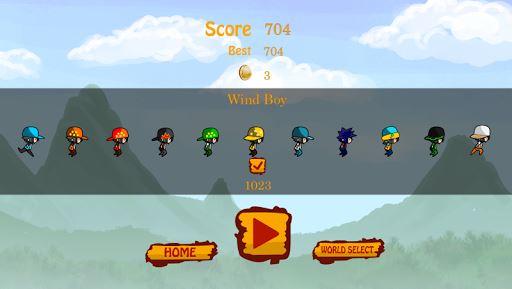 Thunderstorm Boy Run Jump 5