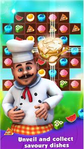 Chef Story:  Match 3 Games 4