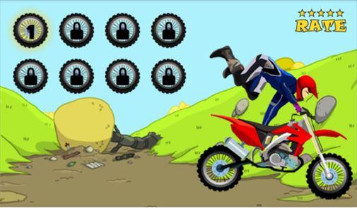 Motorcycle Hill Climb Racing 4