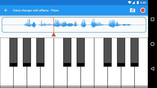 Voice changer with effects 6