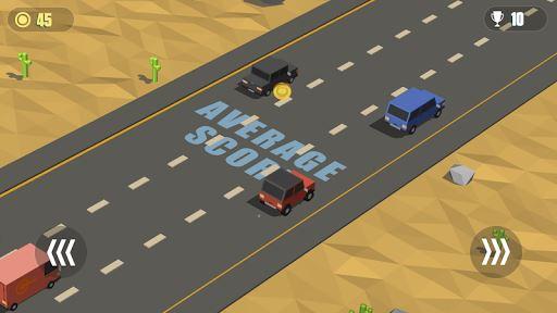 Blocky Cars: Traffic Rush 6