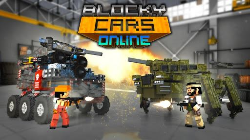 Blocky Cars Online 1