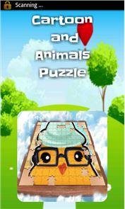 Sliding Puzzle Cartoon&Animals 1