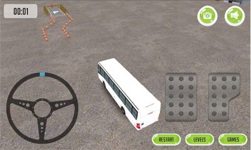 Bus Parking 3D 2015 2
