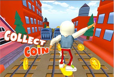 3D Subway Kids Rail Dash Run 3