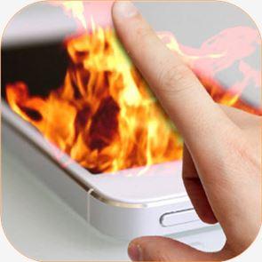 Fire Screen Prank 3