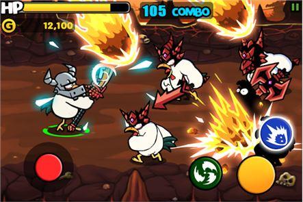 Chicken Revolution : Warrior 3