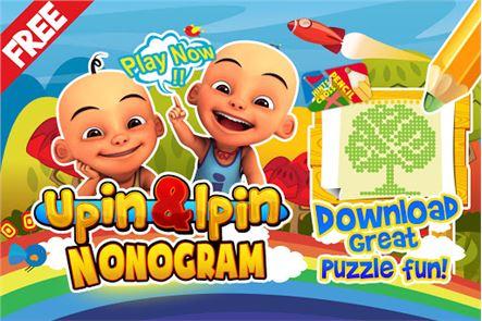 Upin&Ipin Nonogram 1