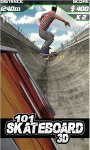 101 Skateboard Racing 3D 1