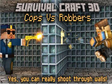 Cops Vs Robber Survival Gun 3D 6