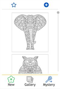Coloring Book: Animal Mandala 1
