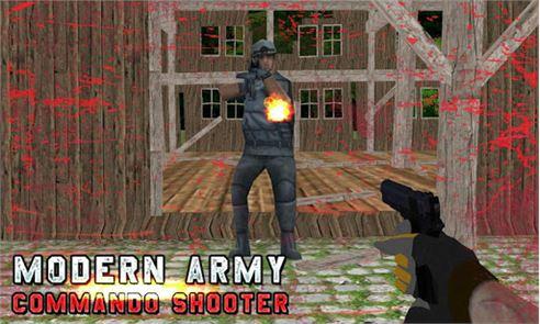 Modern Army Commando Shooter:2 5