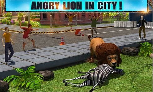 Angry Lion Attack 3D 2