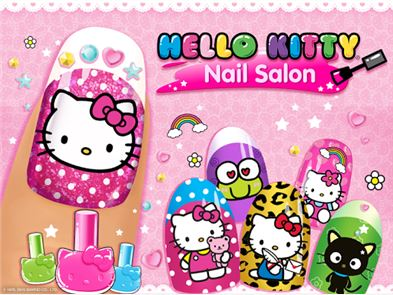 Hello Kitty Nail Salon 1