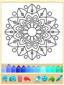 Mandala Coloring Pages 5