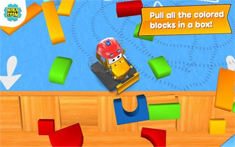 Bulldozer driving game for kid 2
