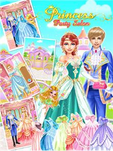 Princess Party Salon-Girl Game 1