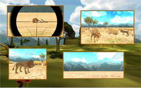 Lion Hunting Challenge 3D 3
