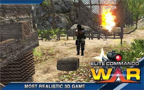 Elite Terrorist Commando War 4