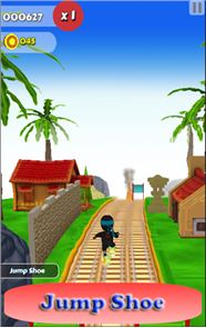 Subway Nano Ninja Surfer 2