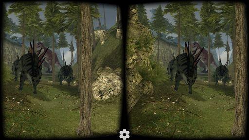 VR Jurassic Coaster 1