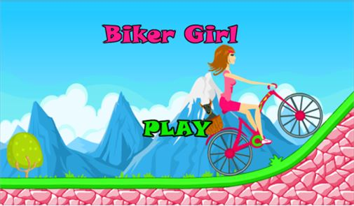 Biker Girl Hill Climb Cycling 6