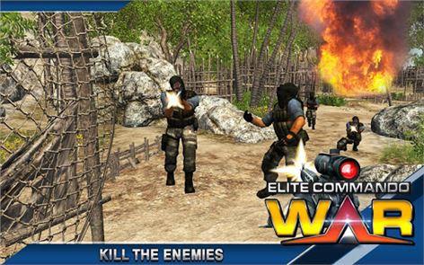 Elite Terrorist Commando War 5