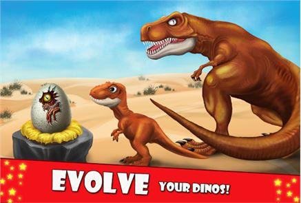 DINO WORLD Jurassic builder 2 4